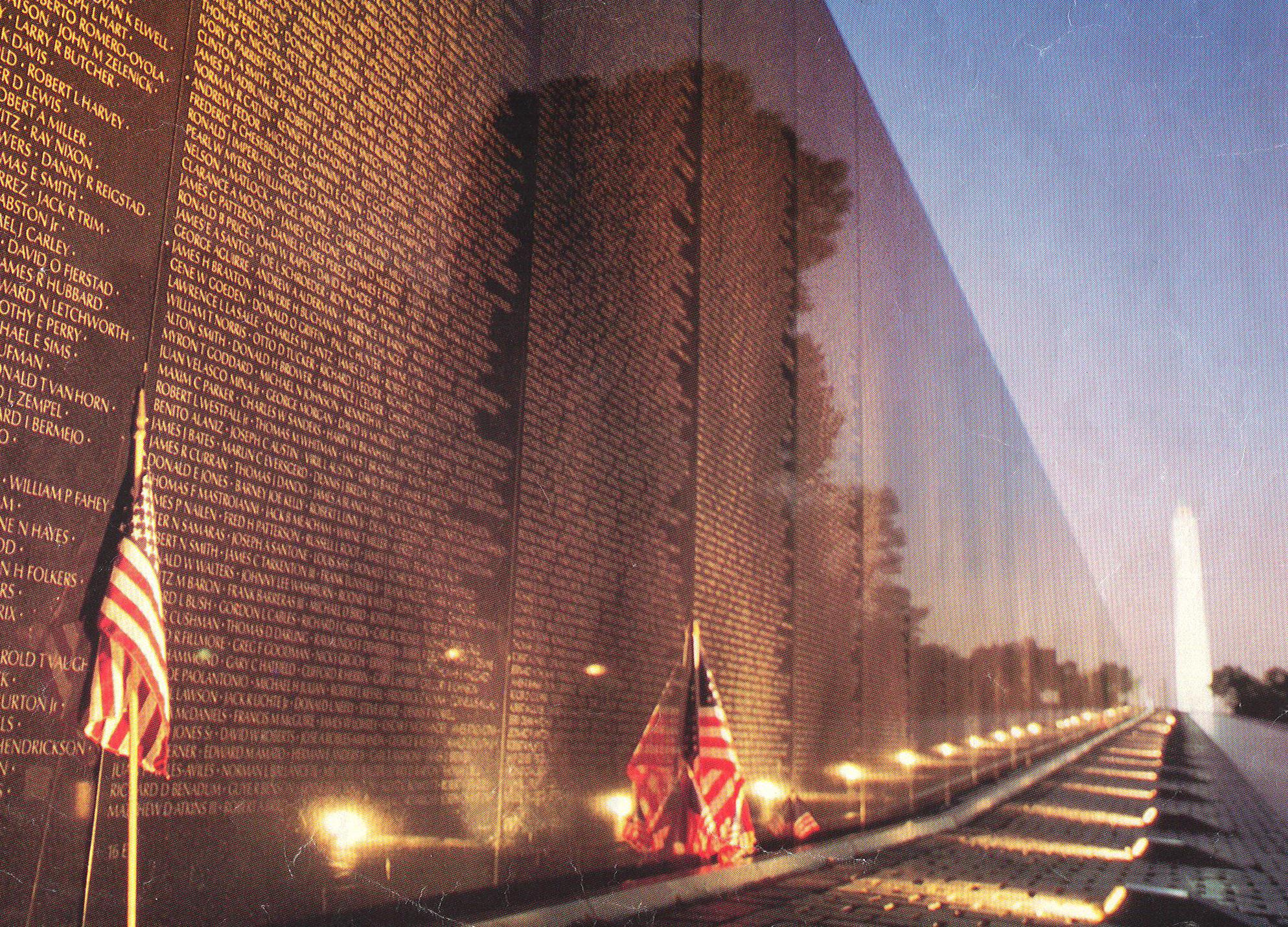 Who Designed The Vietnam Wall as america heads into memorial day a holiday designed to honor and remember those who sacrifice everything for this country a monument to americas A Veteran Reacts To Being Denied Access To The Viet Nam Memorial On Memorial Day 54 40 Or Fight News Analysis And More